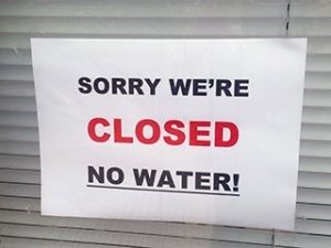 Water Supply Interruption