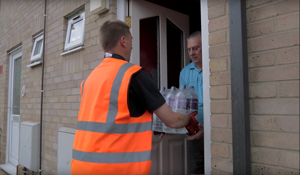 Doorstep Delivery to Vulnerable Customers