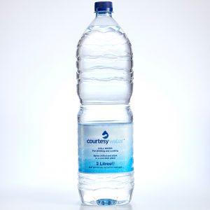2 litre bottled water