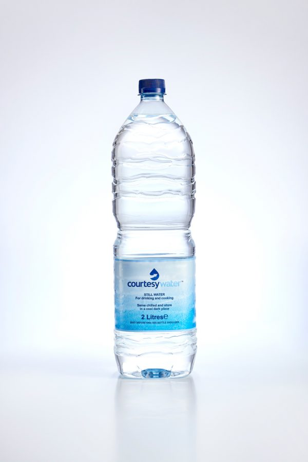 2 litre bottled water