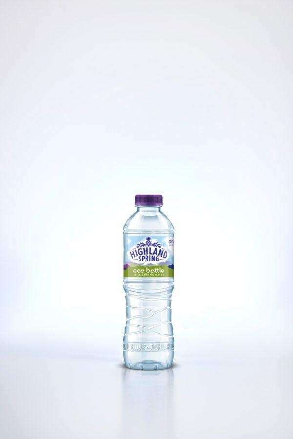 Eco Bottle Highland Spring 100% rPET
