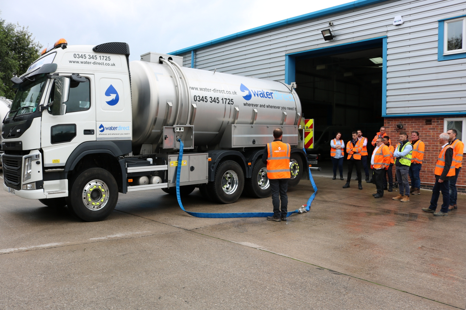 Water Direct - Water Tanker Demonstration