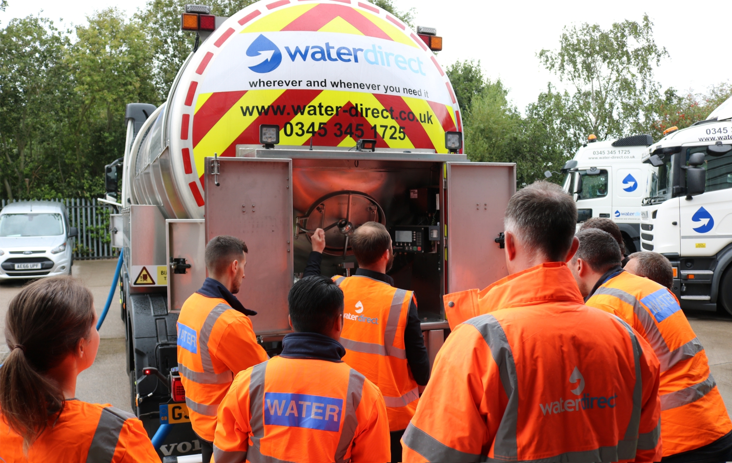 Water Tanker Demonstration