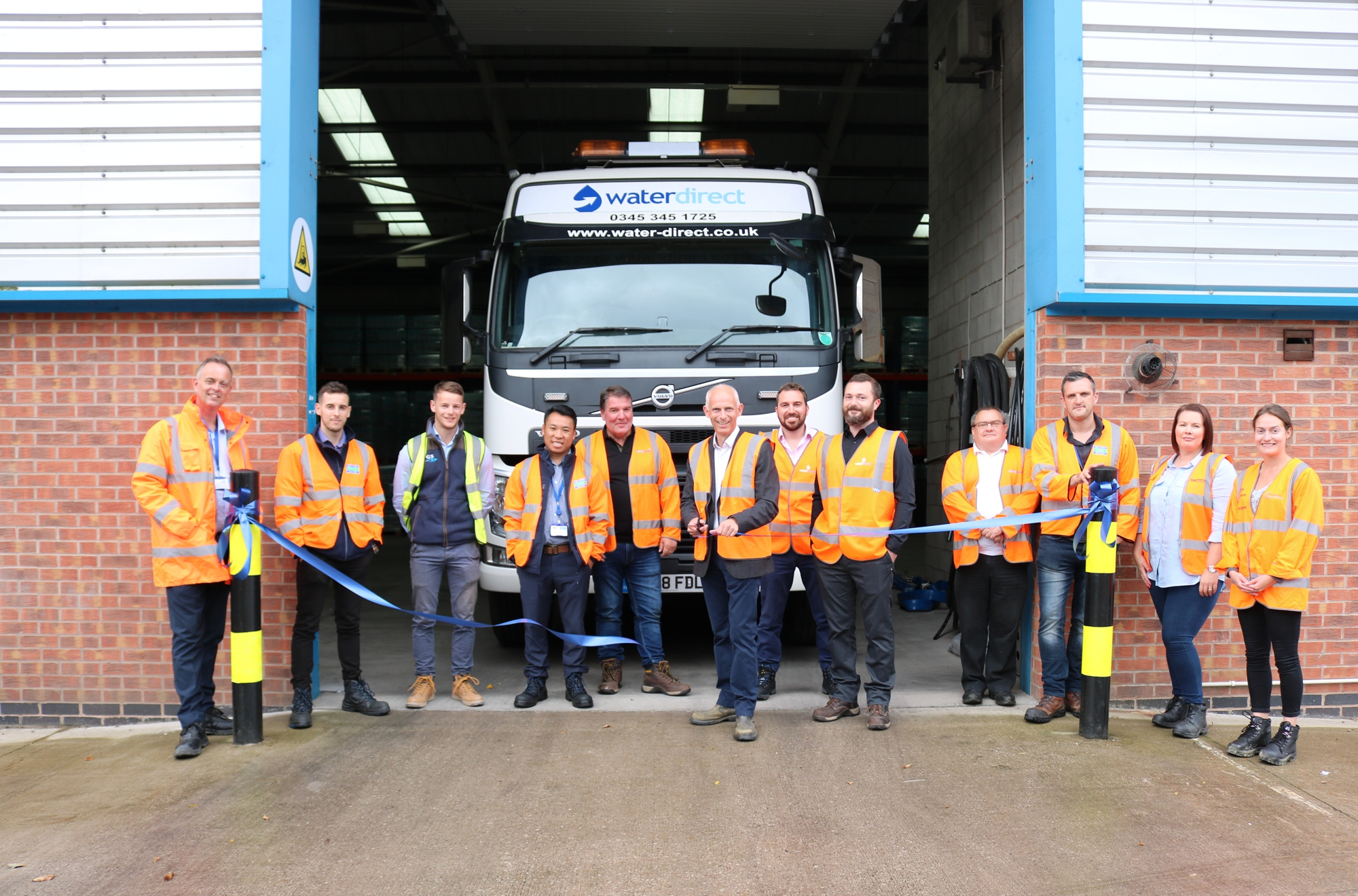 Official Opening of Water Direct's New Mansfield Depot