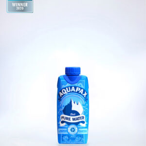 Aquapax eco friendly water carton 330ml