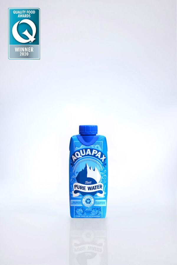 Aquapax eco friendly water carton 330ml