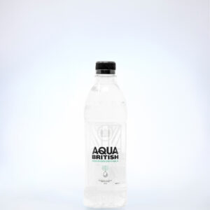 Aqua British 500ml Biodegradable Bottles