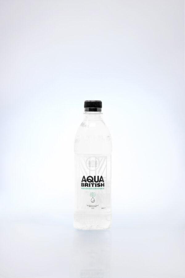 Aqua British 500ml Biodegradable Bottles