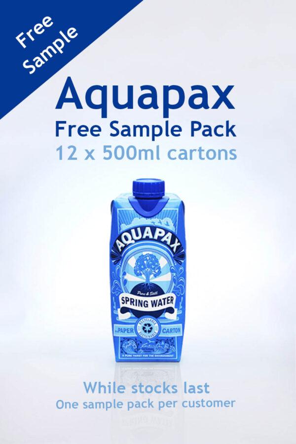 Aquapax Sample Pack Request