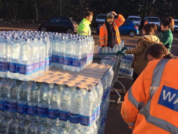 Bottled Water Emergency Response