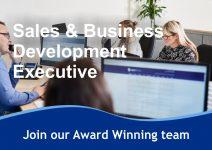RECRUITMENT BANNER Sales & Business Development Executive