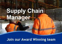 RECRUITMENT BANNER Supply Chain Manager